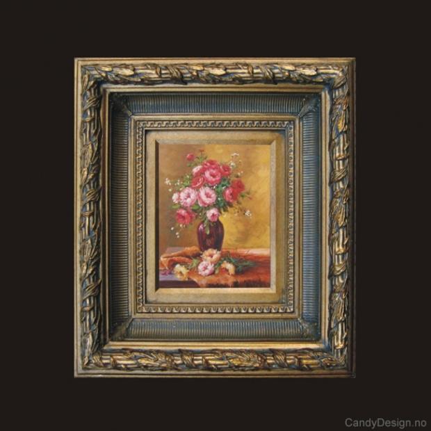 Oljemaleri - Flowers