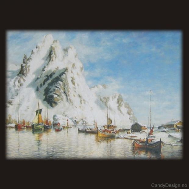 Havneparti fra Svolvær