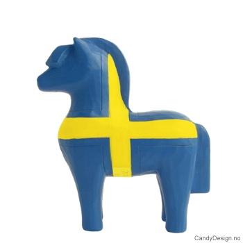 Treskåret fjording i svenske farger