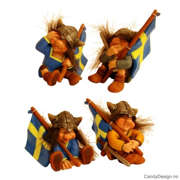 Svenske viking troll