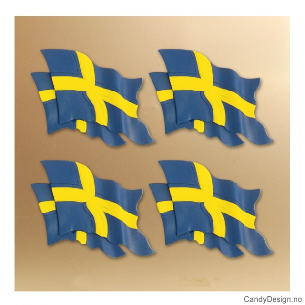 Dobbelt svensk flagg