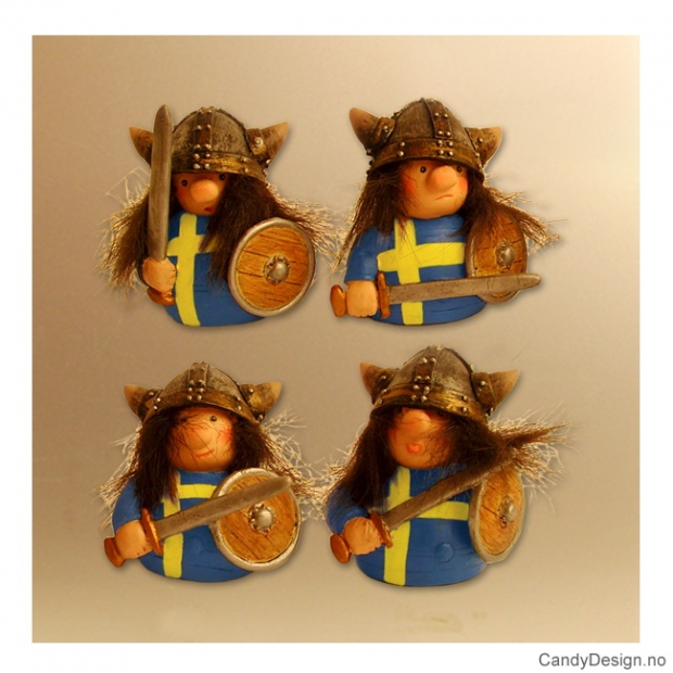 Svenske viking magneter