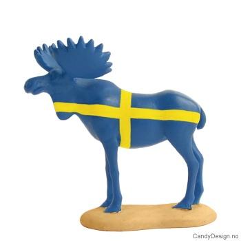 Elg i svenske farger