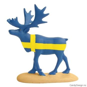 Reinsdyr i svenske farger