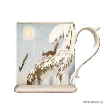 Krus med motiv - Kittelsen - ekorn