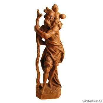 Abraham med sønn stor skulptur