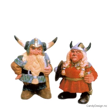 Viking Mann og Kone