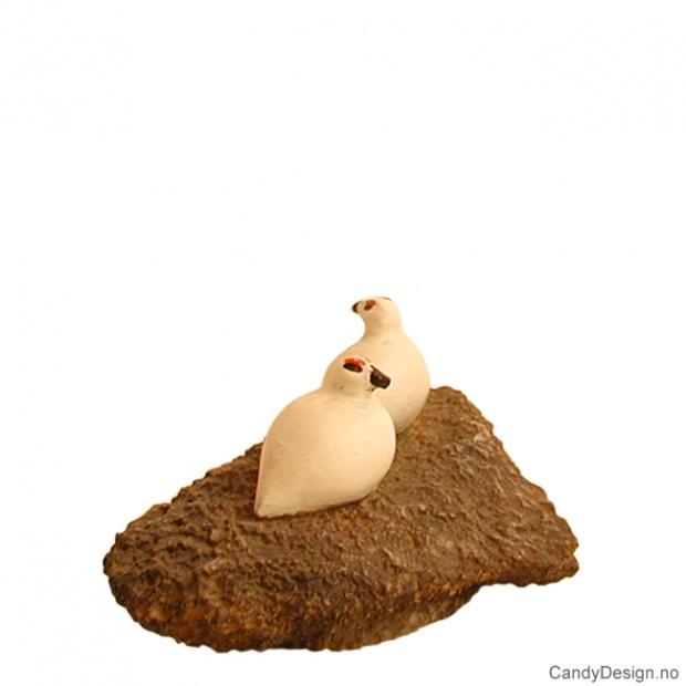 Småryper på stein