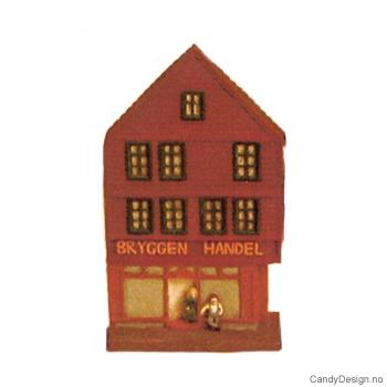 Bryggen i Bergen suvenir hus  Bryggen Handel