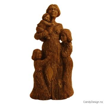 Skulptur tre - Venter på far