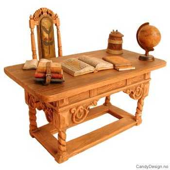 Carl Larsson skrivepult og stol