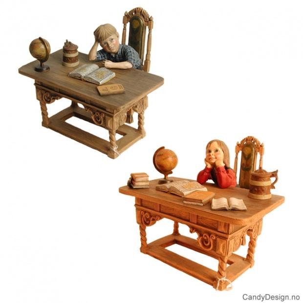 Assorterte Barn med skrivepult