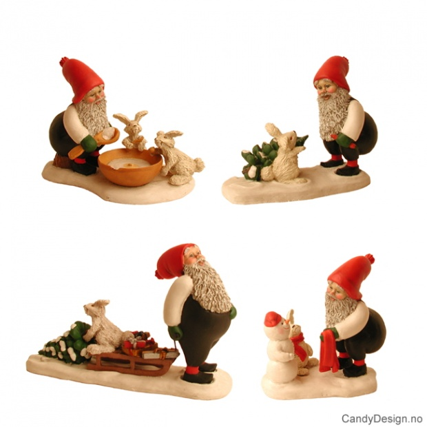 Julenisser assortert