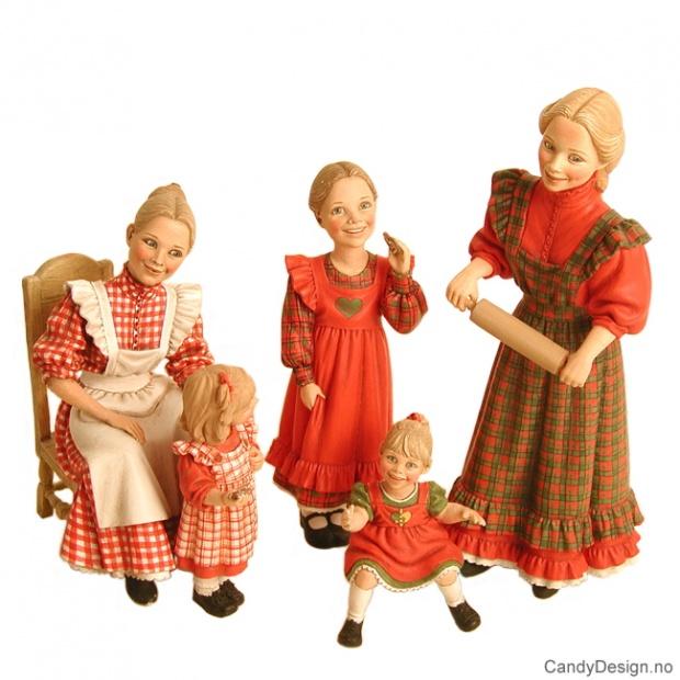 Carl Larsson julefigurer