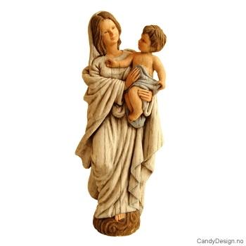 Madonna med barn  Woodstyle