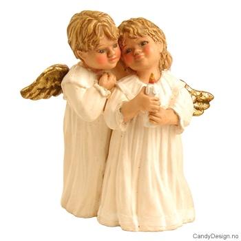 Små romantiske englepar