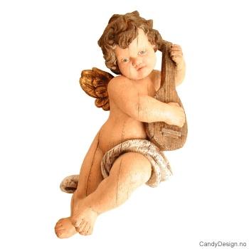 Amorfigurer hengende woodstyle i farger