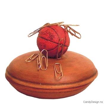 Boks med magnet og ball - Basketball