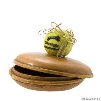 Boks med magnet og ball - Tennisball
