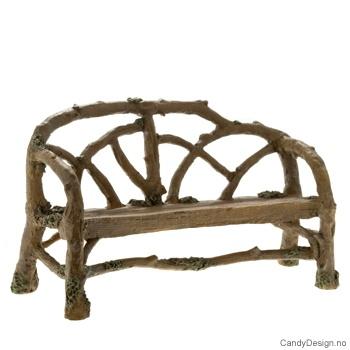 Buet sofa for figurer - brun