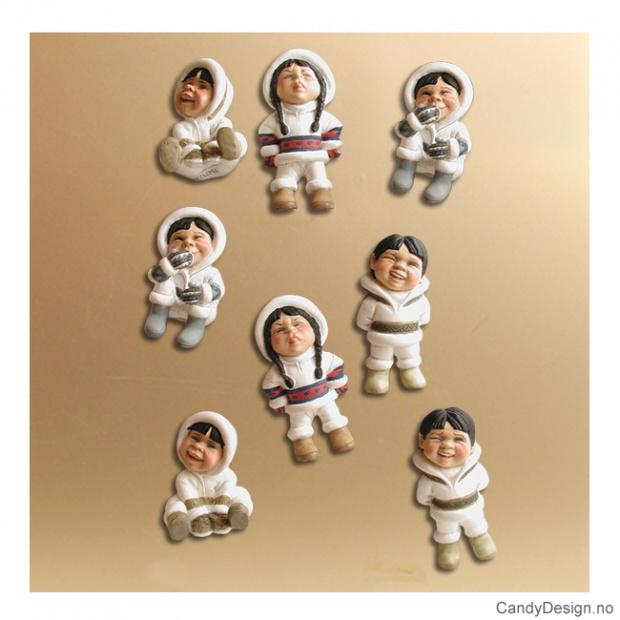 Eskimo suvenir magneter