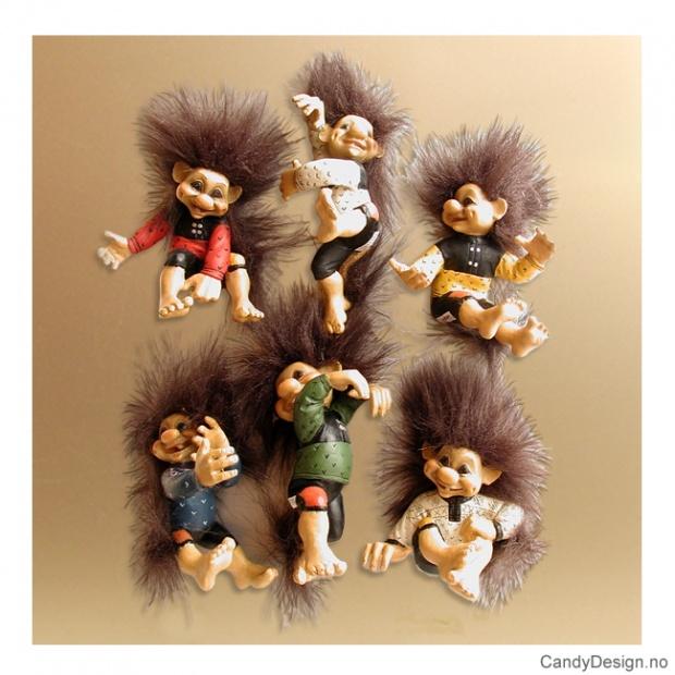 Troll magneter klatrende