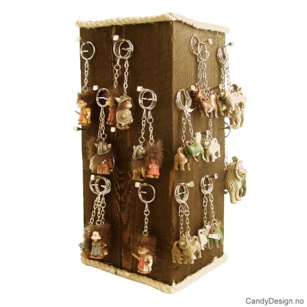 Display for nøkkelringer - NOK. 0,00 ved kjøp av 180 nøkkelringer