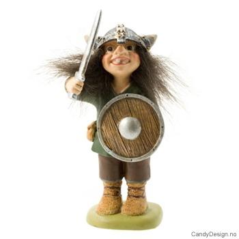 Vikingtroll suvenir stående