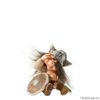 Vikingtroll suvenir sittende