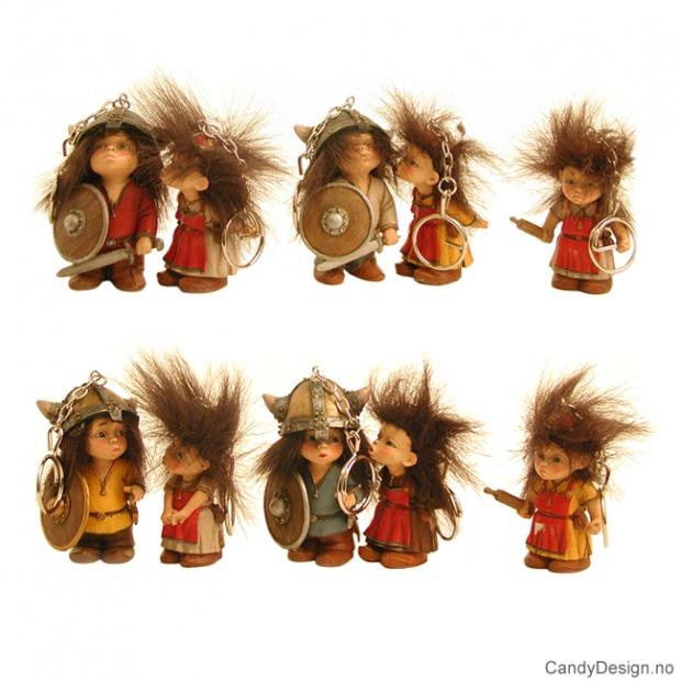 Viking nøkkelring suvenirer - stående