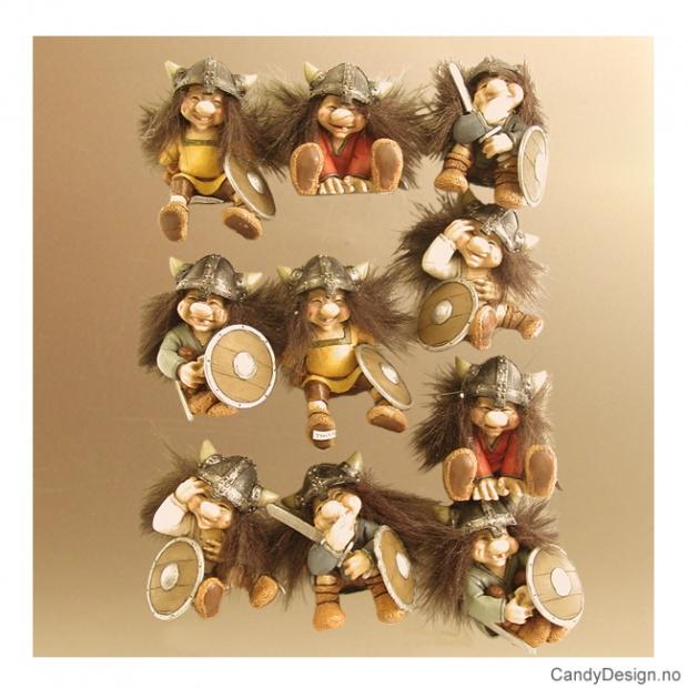 Viking suvenir magneter