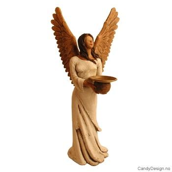 liten statue med vinger