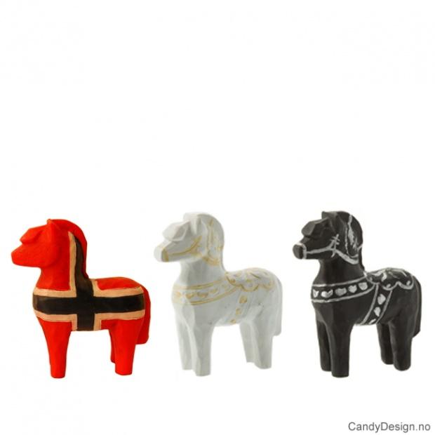 Assorterte små suvenir hester