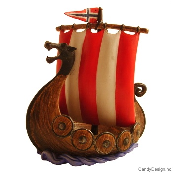 Vikingskip - stort