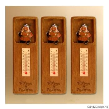 Vikingmor termometer med magnet Vikings of Norway