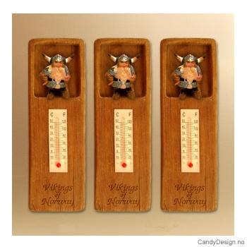 Vikingfar termometer med magnet Vikings of Norway