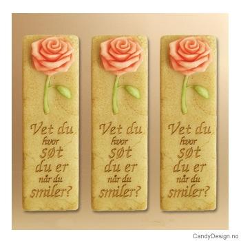 Kjærlighetsord magnet - Vet du hvor søt du er når du smiler
