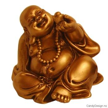 Guld Budda skulptur