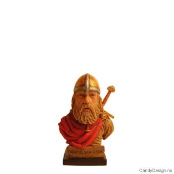 Håkon den gode - mini viking byste