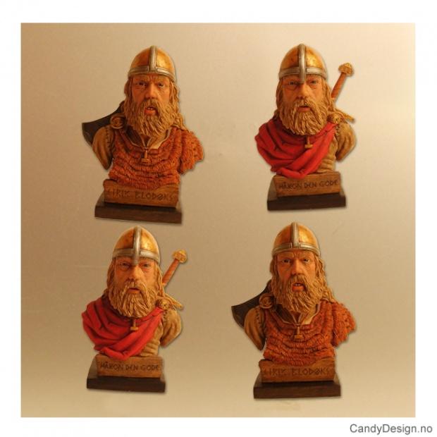 Viking magneter av Håkon den gode og Eirik Blodøks