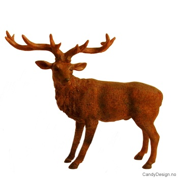 Kronhjort brun