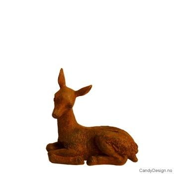 Liggende bambi brun