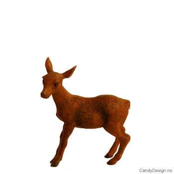 Stående bambi brun