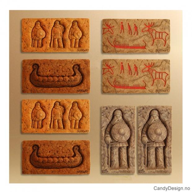 Vikingmagneter avlange