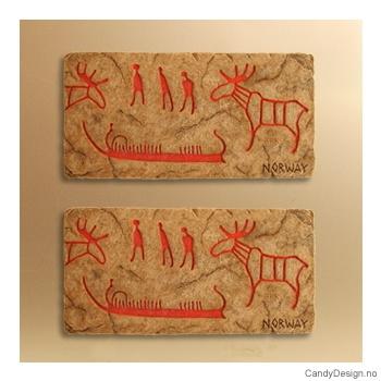 Vikingmagnet - Runer