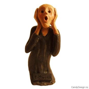 Skrik suvenir figur etter Edvard Munch