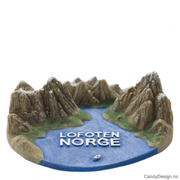 Lofoten suvenir Norsk landskap