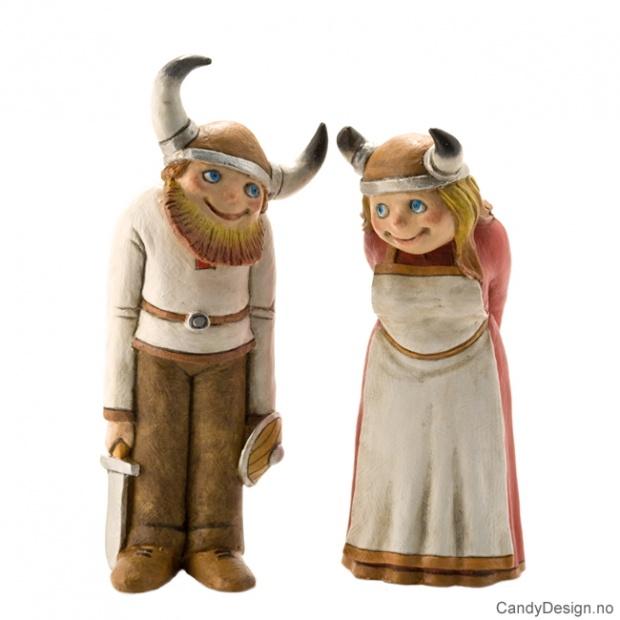 Viking mann og dame assortert
