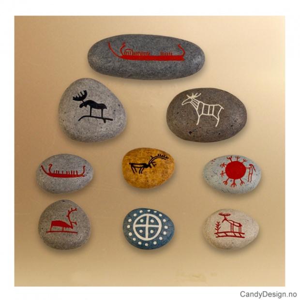 Runestein magnet suvenirer