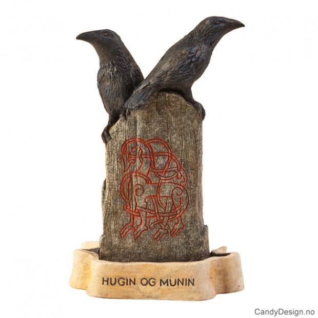 Odins ravner Hugin og Munin
